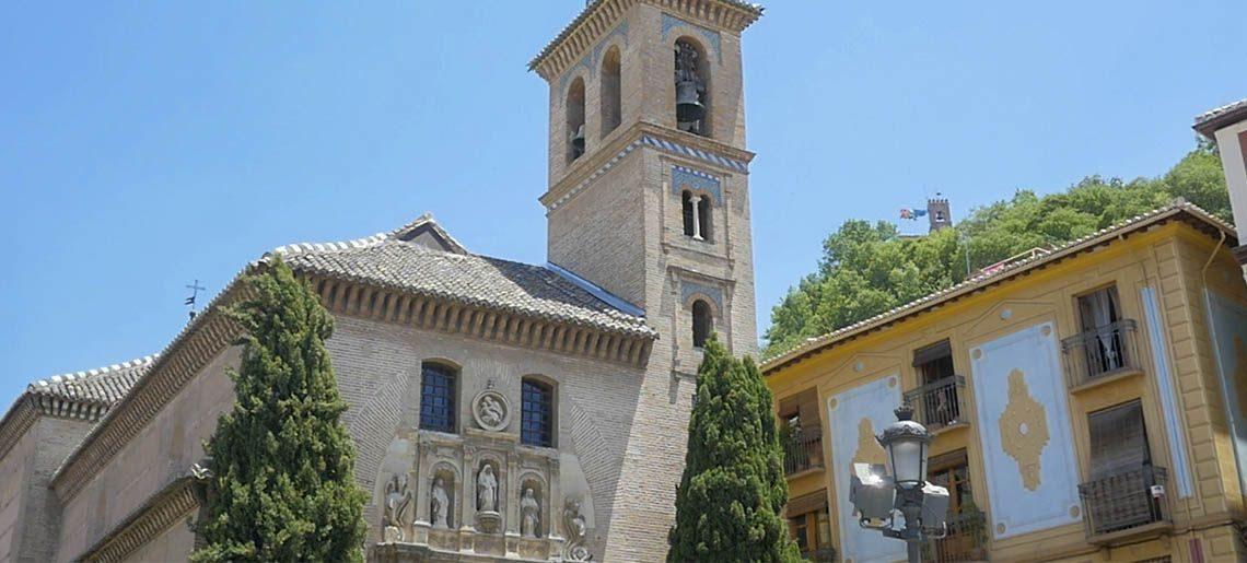 Santa Ana Granada - Tours centro-puerta-real