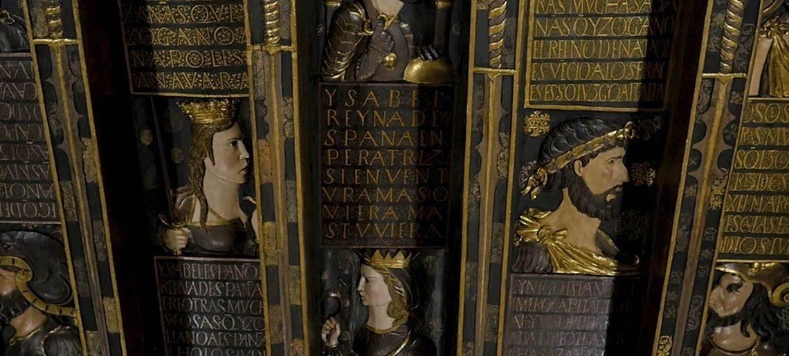 Artesonado Granada - Tours realejo-juderia